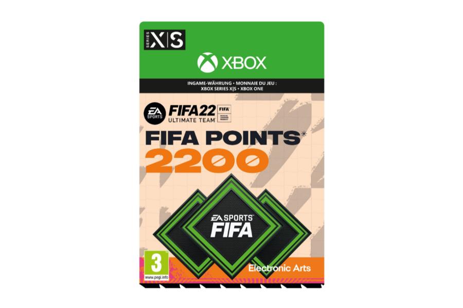 FIFA 22 - 2200 FUT Points  (Xbox)