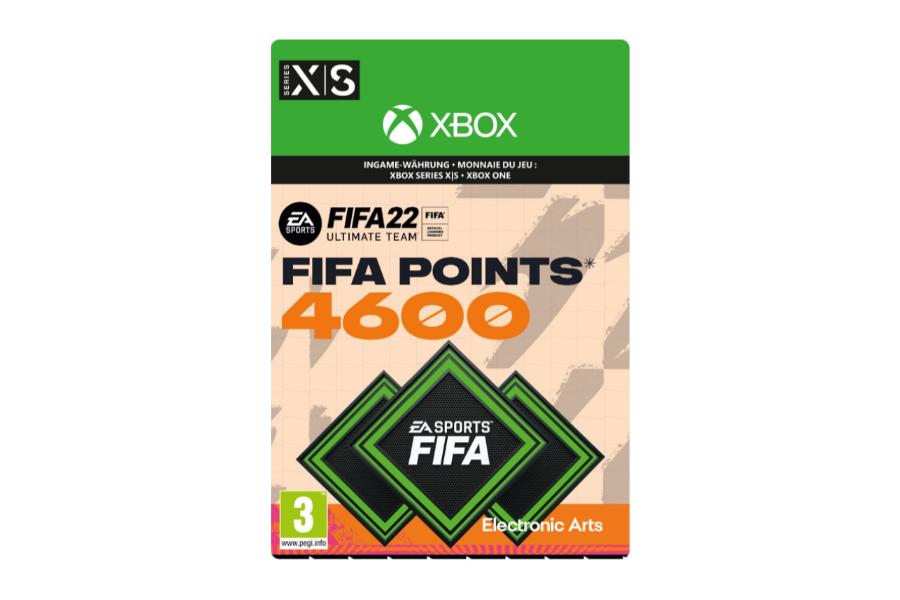 FIFA 22 - 4600 FUT Points  (Xbox)