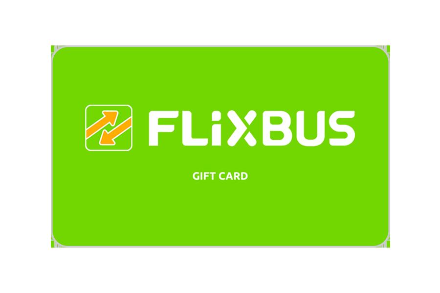 Flixbus eGiftcard CHF 100