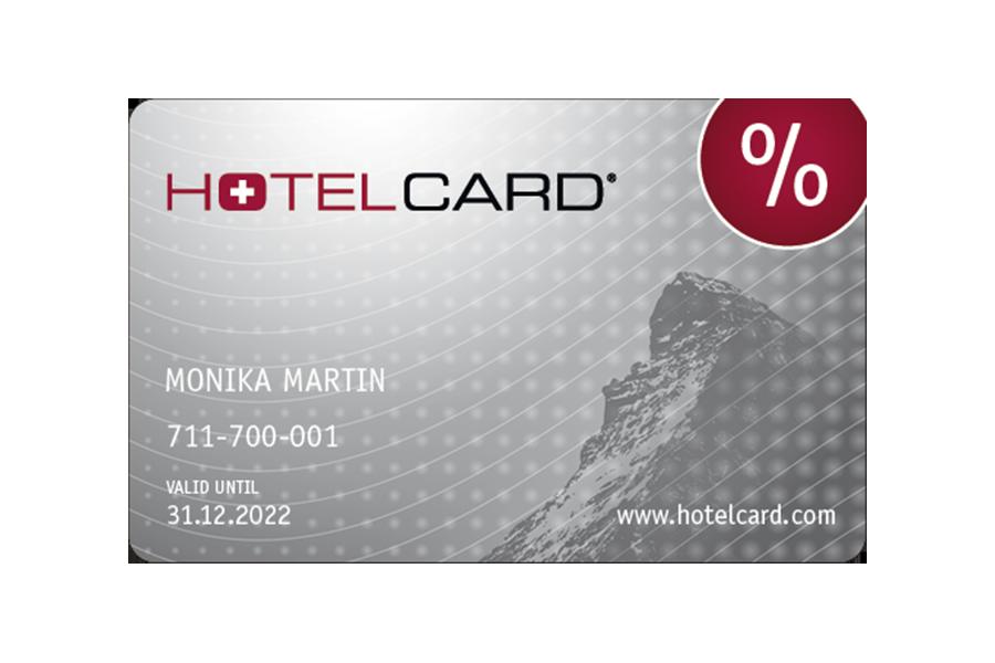 Hotelcard-Voucher for 1 Year
