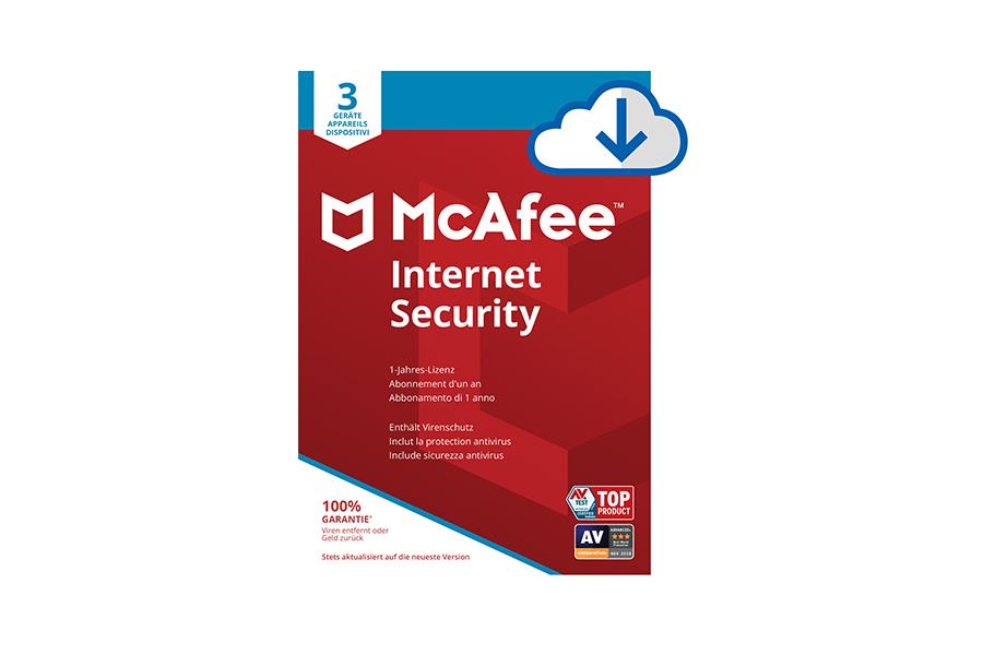 McAfee Internet Security für 3 Geräte
