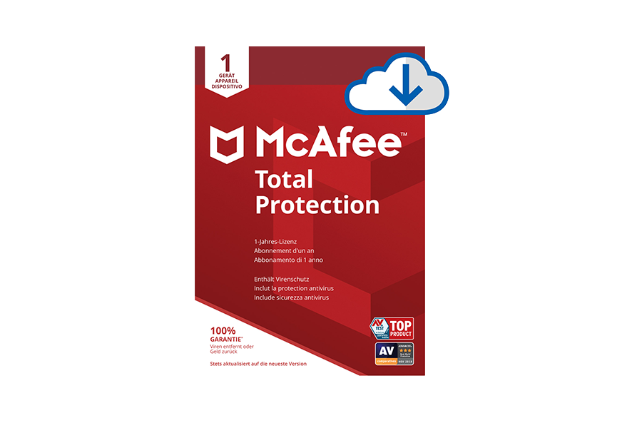 McAfee Total Protection für 1 Gerät