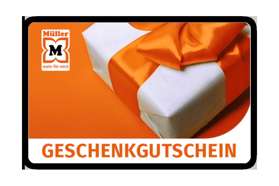 Müller Gift Voucher CHF 50