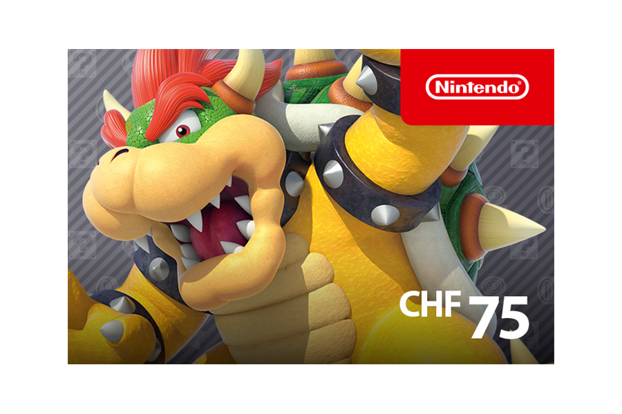 Nintendo eShop funds CHF 75