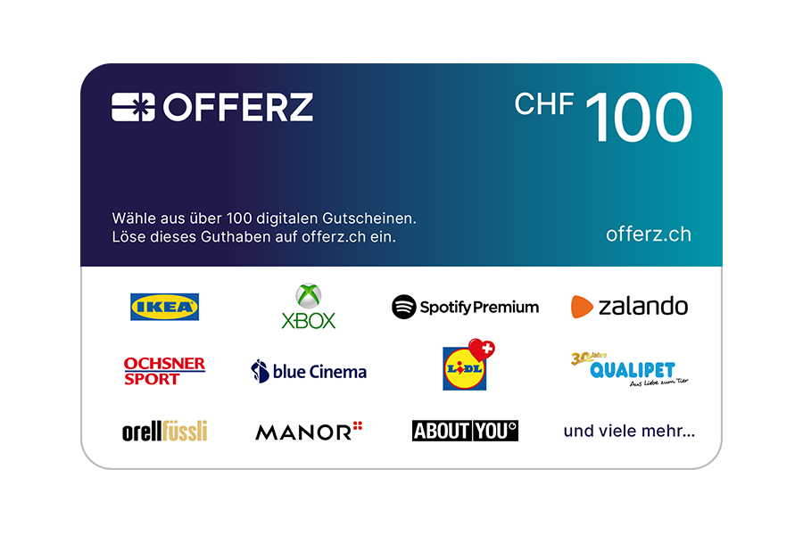 Offerz.ch Voucher CHF 100