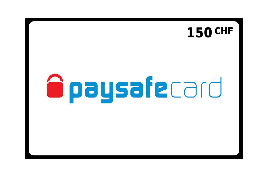 Paysafecard classic PIN CHF 150