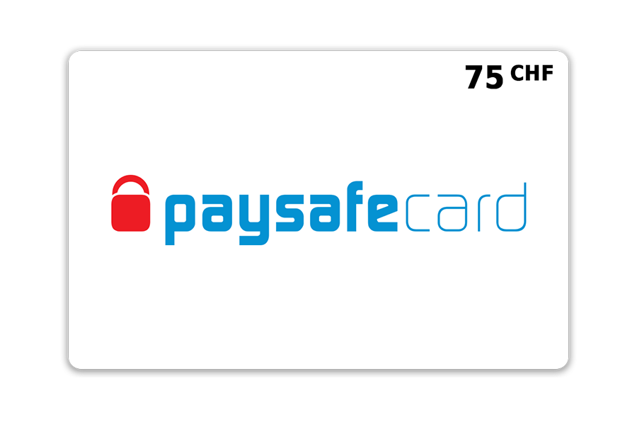 Paysafecard classic PIN CHF 75