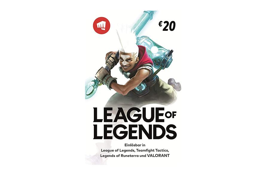 League of Legends Credit € 20
