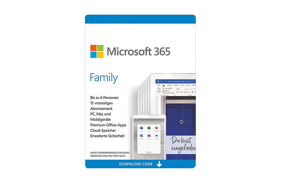 Microsoft 365 Family (6 User)