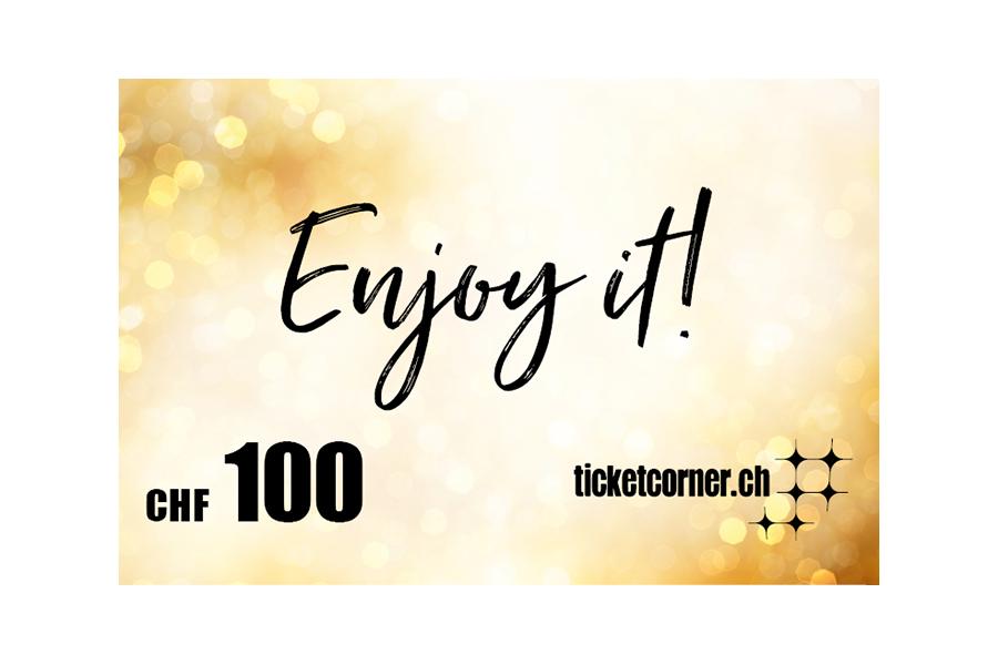Ticketcorner eVoucher CHF 100