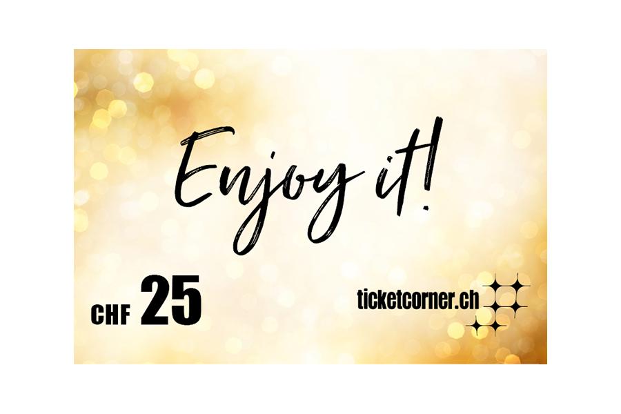 Ticketcorner eVoucher CHF 25